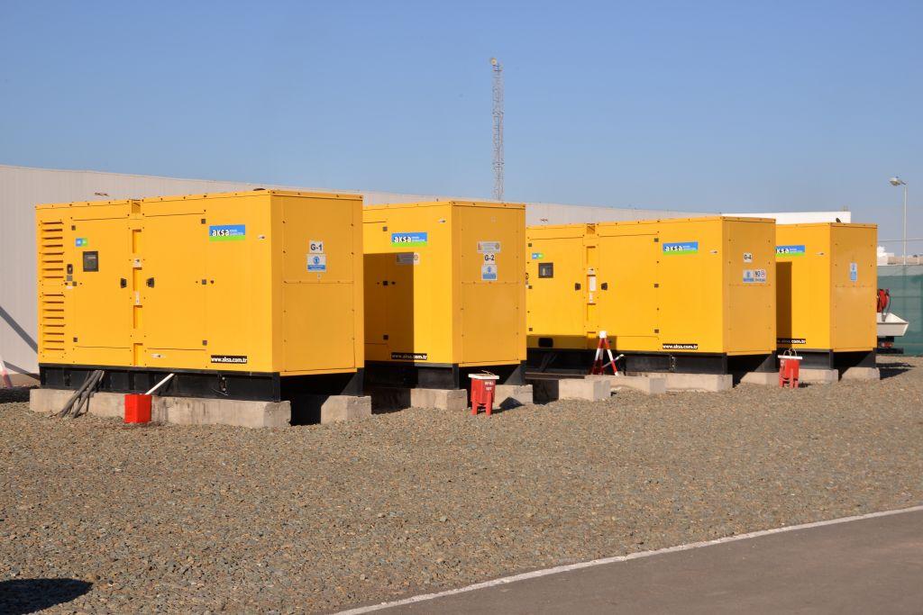 Передвижные дизельные электростанции