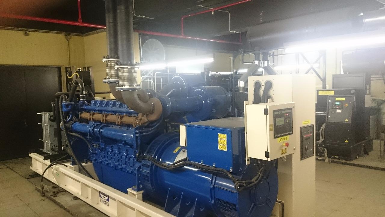 Промышленные дизель-генераторы